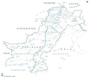 complete map of pakistan complete map
