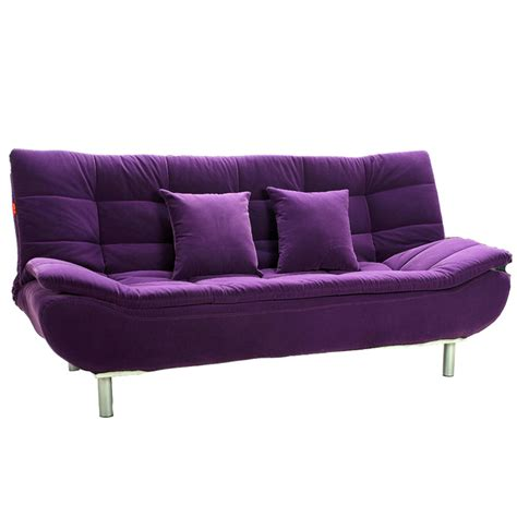 bed and couch purple sofa and yellow walls couch sofa ideas interior