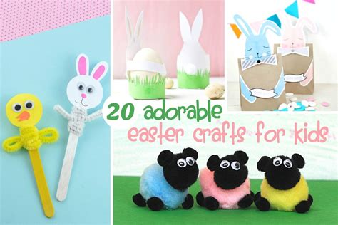 easter craft 20 adorable easter crafts for