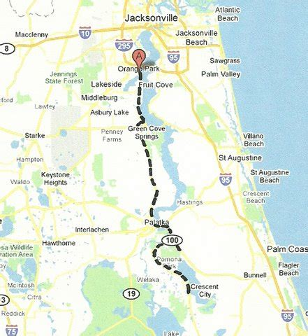 intracoastal waterway map