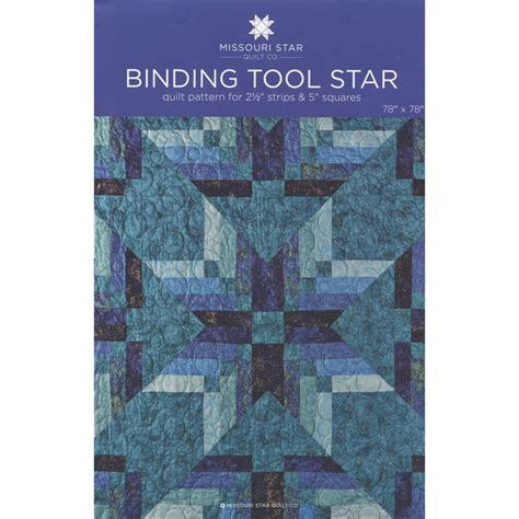 quilt pattern missouri star binding tool star quilt pattern by msqc quilts and quilt