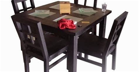 Meja Di Malaysia model gambar meja makan jati harga murah meja makan 4