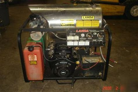 landa pghw   hot water pressure washer