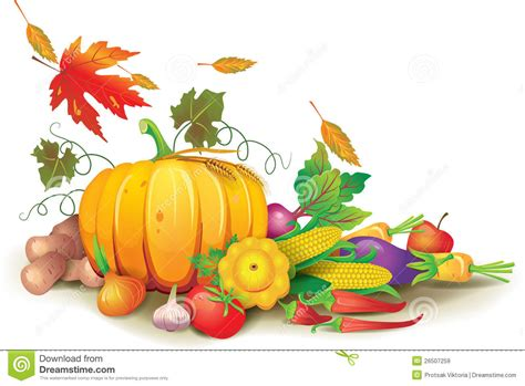 Free Clip Harvest Pictures by Still Of Autumn Harvest Stock Vector Illustration