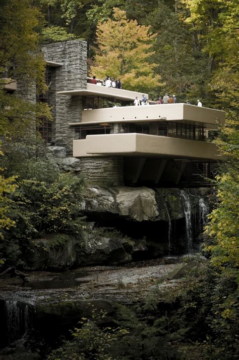 water falling the most famous designs of frank lloyd wright