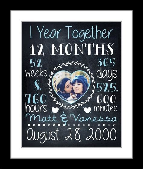 Wedding Gift One Year by 1000 Ideas About One Year Anniversary On