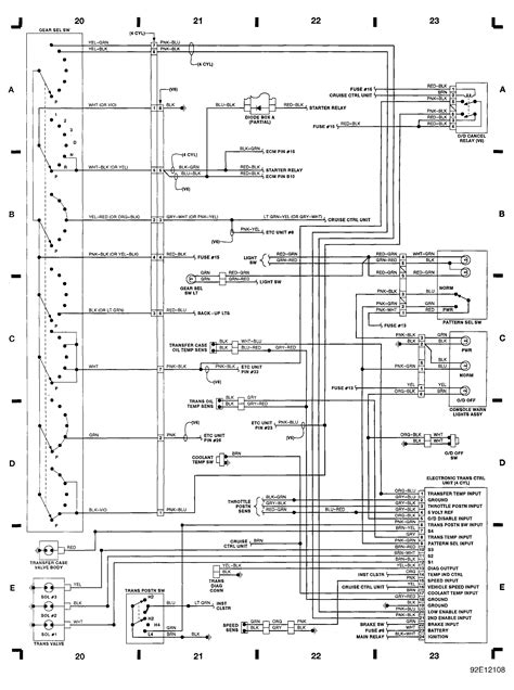 isuzu rodeo wiring diagram  wiring diagram