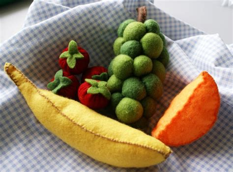 play fruit play food felt fruit selection felt