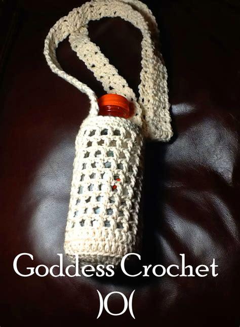 crochet pattern bottle holder pattern translation water bottle holder uk crochet