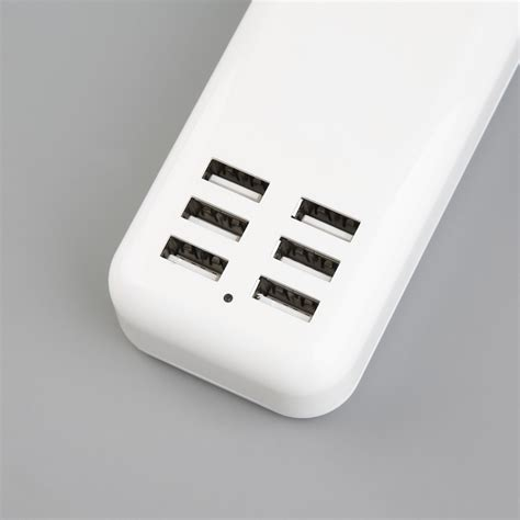 Wall Charger Grosir wall charger usb 6 ports 20w eu white jakartanotebook