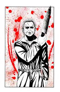 Michael Meyers Free Coloring Pages Michael Myers Coloring Pages