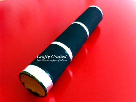 How To Make A Telescope With Toilet Paper Rolls - crafty crafted 187 archive crafts for children