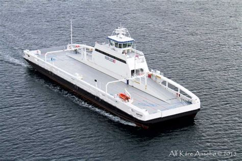 ferry electric first in the world electric car ferry enters service