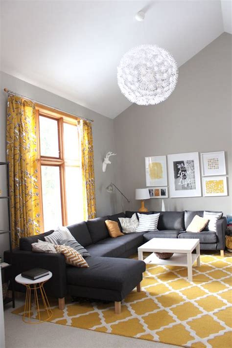 Yellow Rugs For Living Room yellow moroccan rug in living room decoist