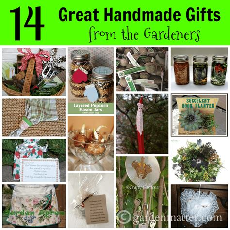 Gardener Gifts by Handemade Gifts Diy Gifts From The Gardeners Garden Matter