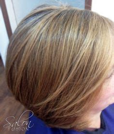 camouflaging gray hair with highlights pin by salon fusion on hair salon fusion pinterest