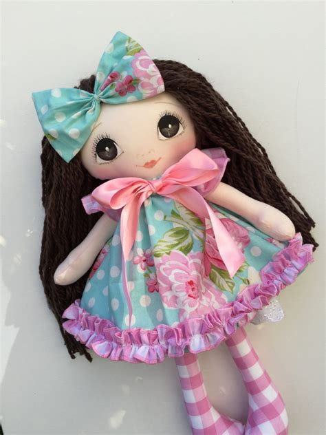 Handmade Fabric Dolls - handmade cloth doll