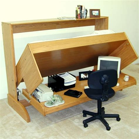 Most Comfortable Murphy Bed Diy Computer Desk Ideas To Inspire You Minimalist Desk