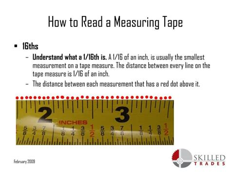 show tape measure reading powerpoint ppt how to read a measuring powerpoint presentation id 5335145