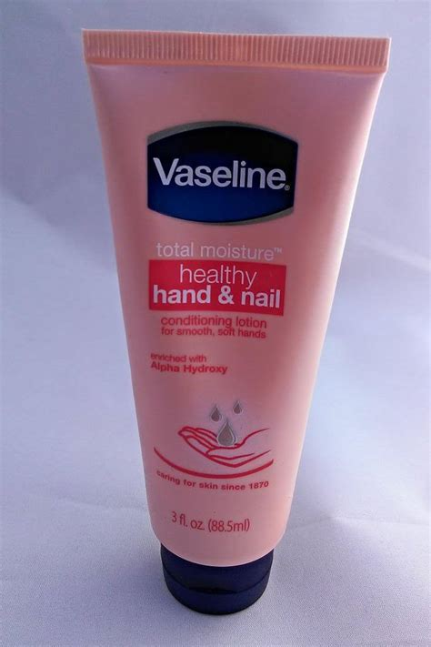 Handbody Vaseline vaseline intensive care healthy stronger nails conditioning lotion reviews in lotions