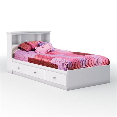 white bed with storage white bed frame with storage twin bed frames with drawers