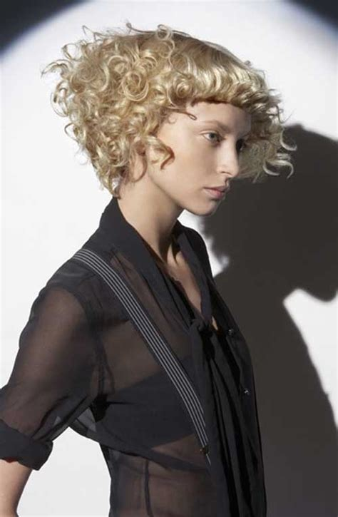 short hairstyles with curly bangs 20 beautiful short curly hairstyles short hairstyles