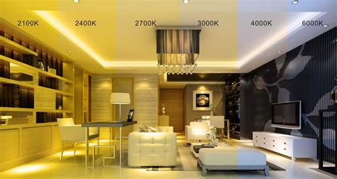 what temperature light for living room colour temperature 色温区别 led strip light we lead in led
