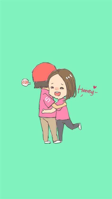 cute couple wallpaper mobile9 40 cute cartoon couple love images hd