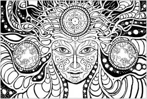 psychedelic coloring book psychedelic psychedelic coloring pages for