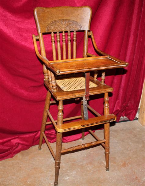 antique high chairs antique eastlake oak high chair ebay
