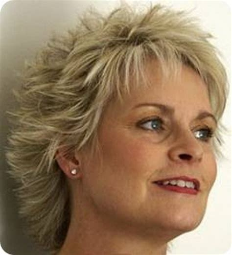 short hairstyles for women over 50 with thin crown short layered haircuts for women over 50