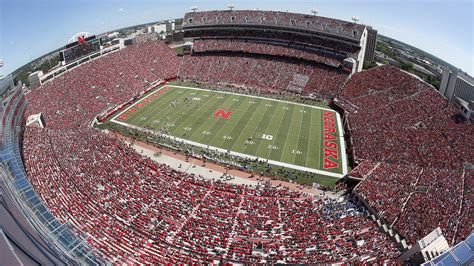 nebraska lights tour ohio state at nebraska football weekend
