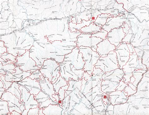 gsmnp trail map gsmnp landforms