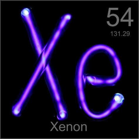 el elemento the element pictures stories and facts about the element xenon in the periodic table