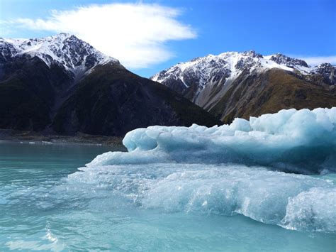 small boat tours new zealand floating with glaciers tasman lake boat tour