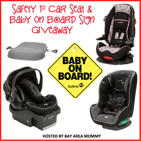 Safety Giveaways - safety 1st car seat and baby on board sign giveaway 10 8