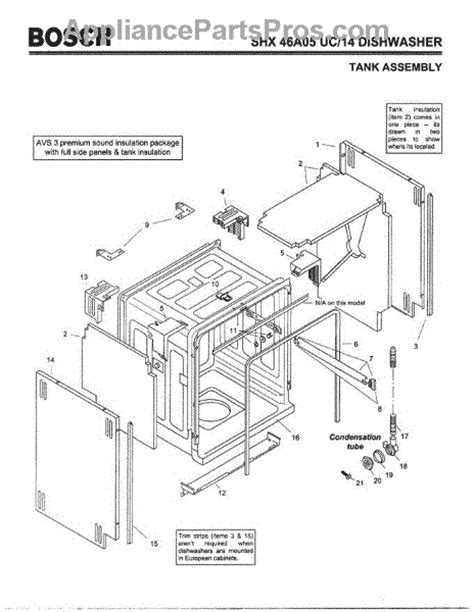 bosch ascenta dishwasher parts diagram www jeffdoedesign