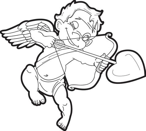 cupid s view coloring book for everyone books free printable cupid coloring page for