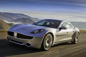 Electric Car Karma Fisker Karma Randomly Catches In Parking Lot