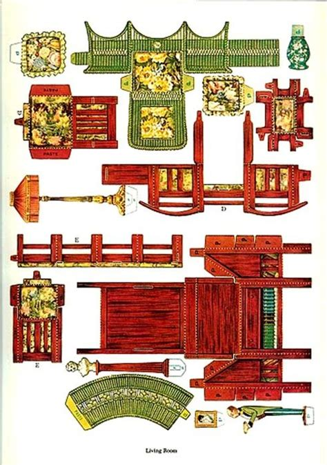 Papercraft Dollhouse - best 25 paper doll house ideas on cut paper