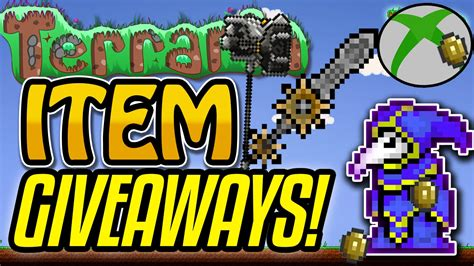 Terraria Free Giveaway - terraria xbox one free item giveaways new items youtube