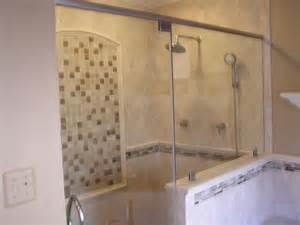 Tiled Shower Ideas For Bathrooms 30 Pictures Of Porcelain Tile In A Shower