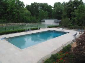 limestone swimming pool patio nj traditional patio