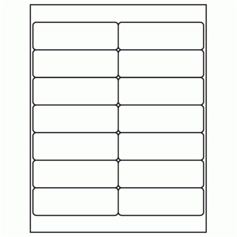 avery 1 x 4 label template 1 1 3 quot x 4 quot white laser inkjet address sheet label ml