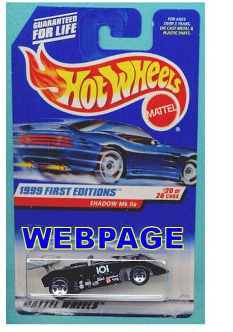 Hotwheels 303 Shadow Mk Iia shadow mk iia model cars hobbydb