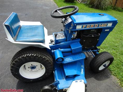 Ford Garden Tractor by Tractordata Ford 140 Tractor Photos Information