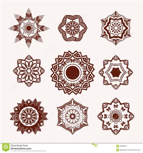 henna tattoo designs eps henna design element mehndi flowers stock vector