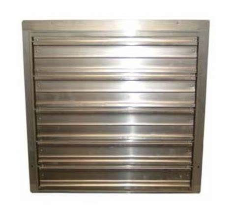 Tpi Corp Ces G Industrial Exhaust Fan Wall Shutter