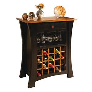 Painted Buffet Hutch Amish Wine Cabinets Amish Furniture Shipshewana