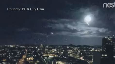 bright light in sky last night an unexplained light flash over phoenix was captured on